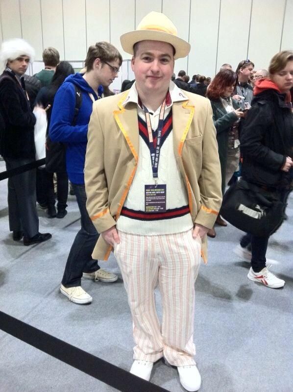 Alex W. as the Fifth Doctor. (Photo: Karen Parks)