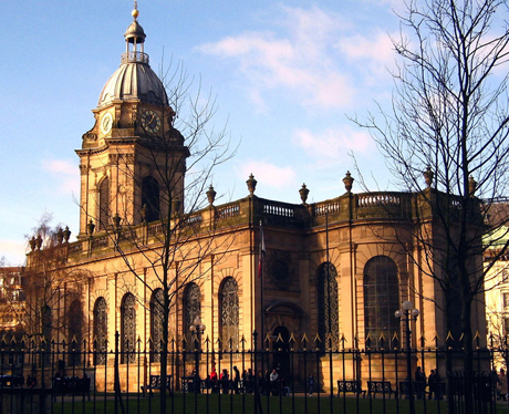 St. Philips Cathedral in Birmingham, England. (WIKI)