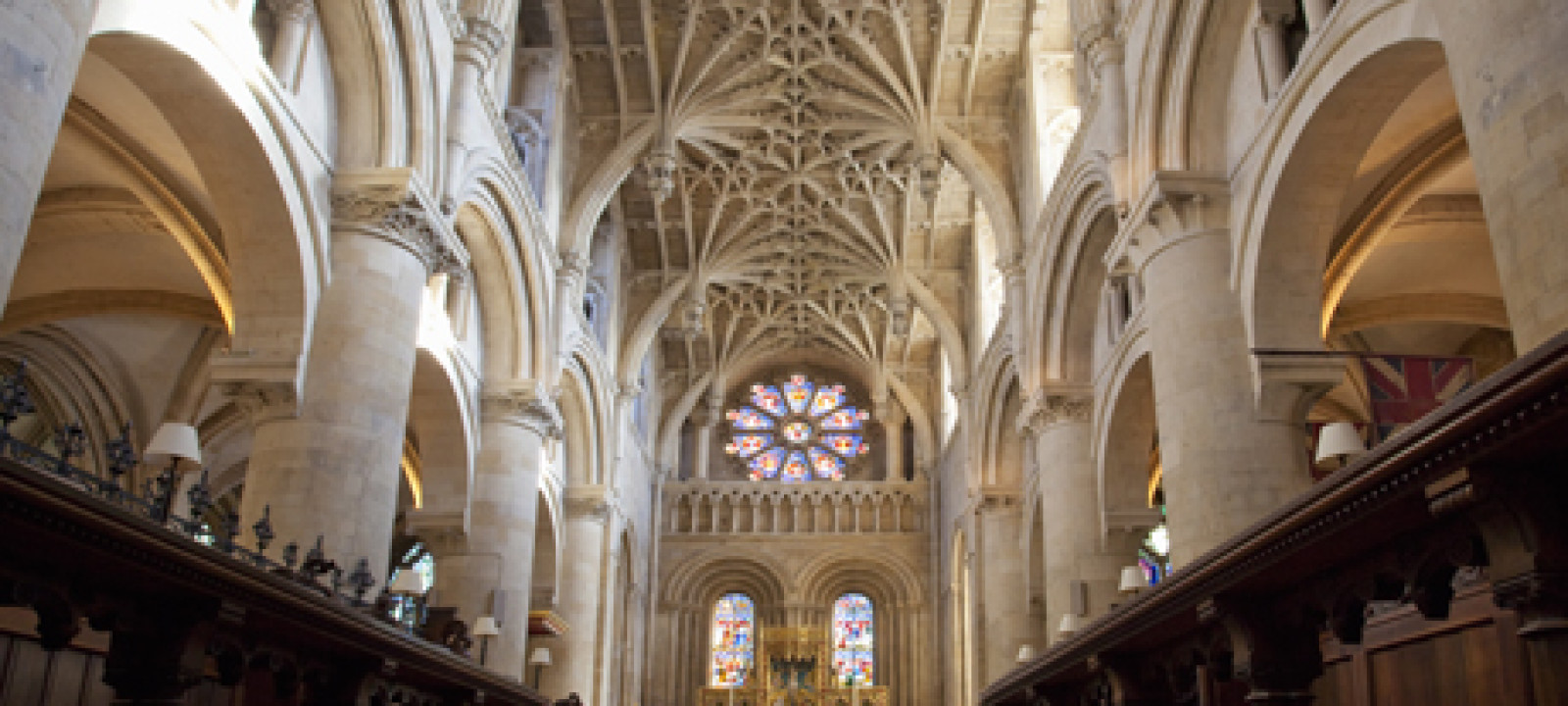 Christ Church Cathedral interior, Oxford University, Oxford, Oxf