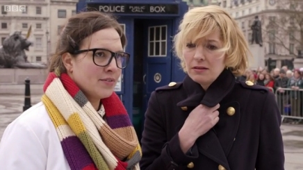 "Ingrid Oliver and Jemma Redgrave in ""The Day of the Doctor"""