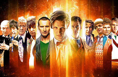 The Doctor Who 50th Anniversary conquered the air waves. (BBC)