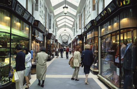 Burlington Arcade. (AP)