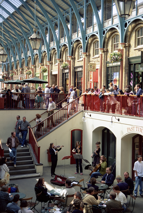 Covent Garden. (AP)