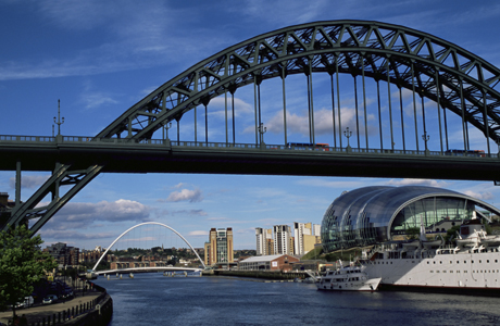 Tyne Bridge, Newcastle upon Tyne, Tyne and Wear, England. (AP/James Emmerson/Robert Harding)