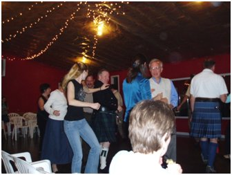 It's called social dancing for a reason ... get to know your partner. (SCOT)