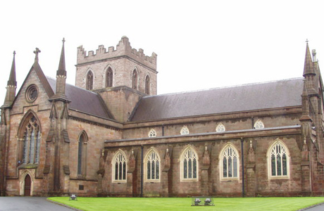 St. Patrick's Cathedral, Armagh, Northern Ireland. (WIKI)