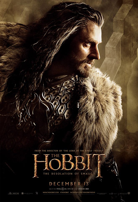 Richard Armitage as Thorin Oakenshield.