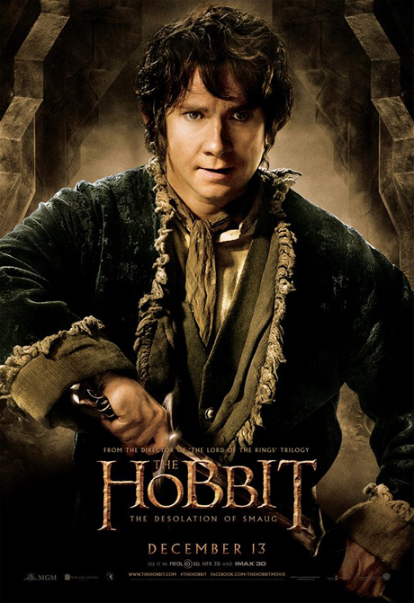 Martin Freeman as Bilbo Baggins. (MGM)
