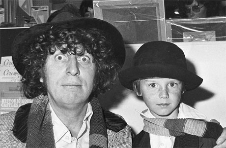 Stuart Crouch and Tom Baker