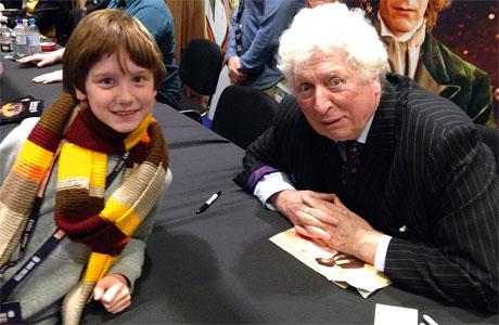 Stuart Crouch's son and Tom Baker