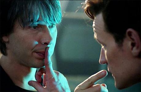 Professor Brian Cox meets the Doctor