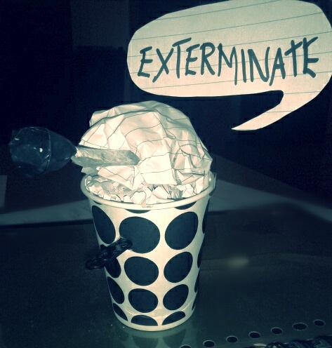 Dalek cup