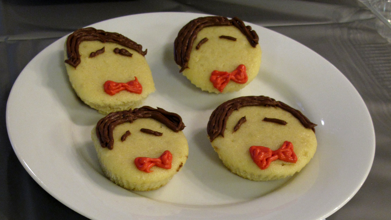 Eleventh Doctor cupcakes