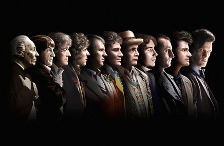 'Doctor Who' - The Eleven Doctors (1963-2013)