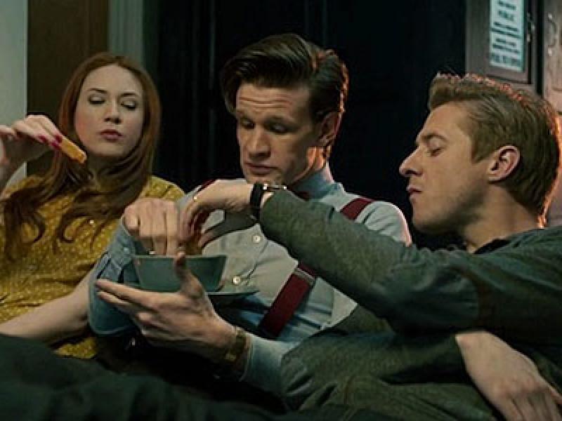 Doctor Who: fish custard