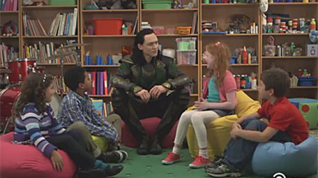 Tom Hiddleston as Loki (Comedy Central)