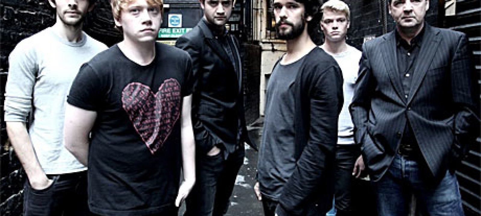 Rupert Grint, Colin Morgan and Ben Whishaw in 'Mojo'