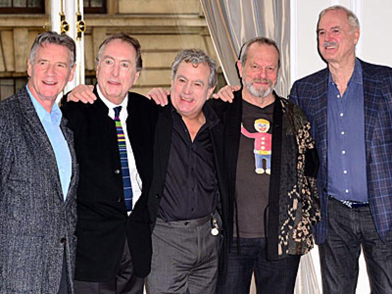 The Monty Python team 2013