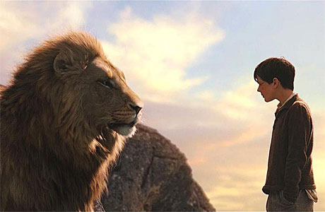 """Fish fingers and WHAT?"" - Aslan and Edmund in Narnia."