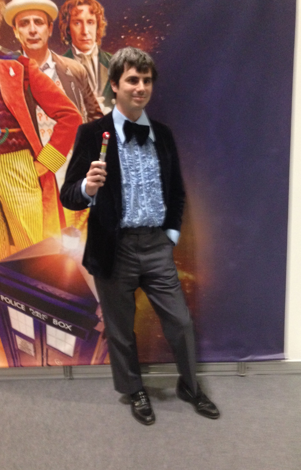 Third Doctor cosplay (Photo: KW)