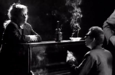The late Kirsty MacColl and Shane Macgowan in The Pogues' 'Fairytale of New York' video.
