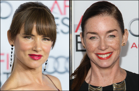 Juliette Lewis (left) and Julianne Nicholson. (Photos: Paul A. Hebert/Invision/AP)