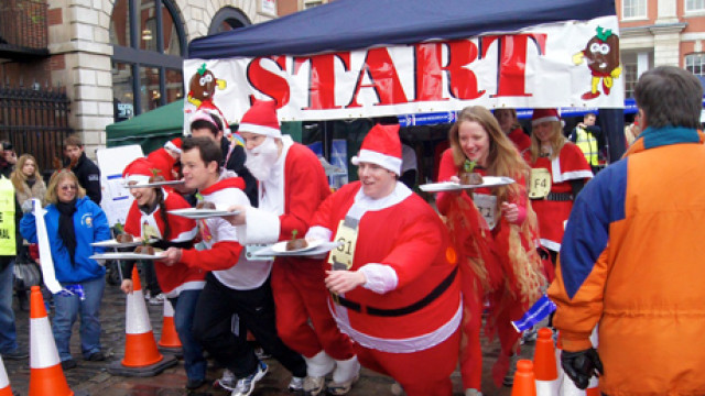 Christmas Pudding Run