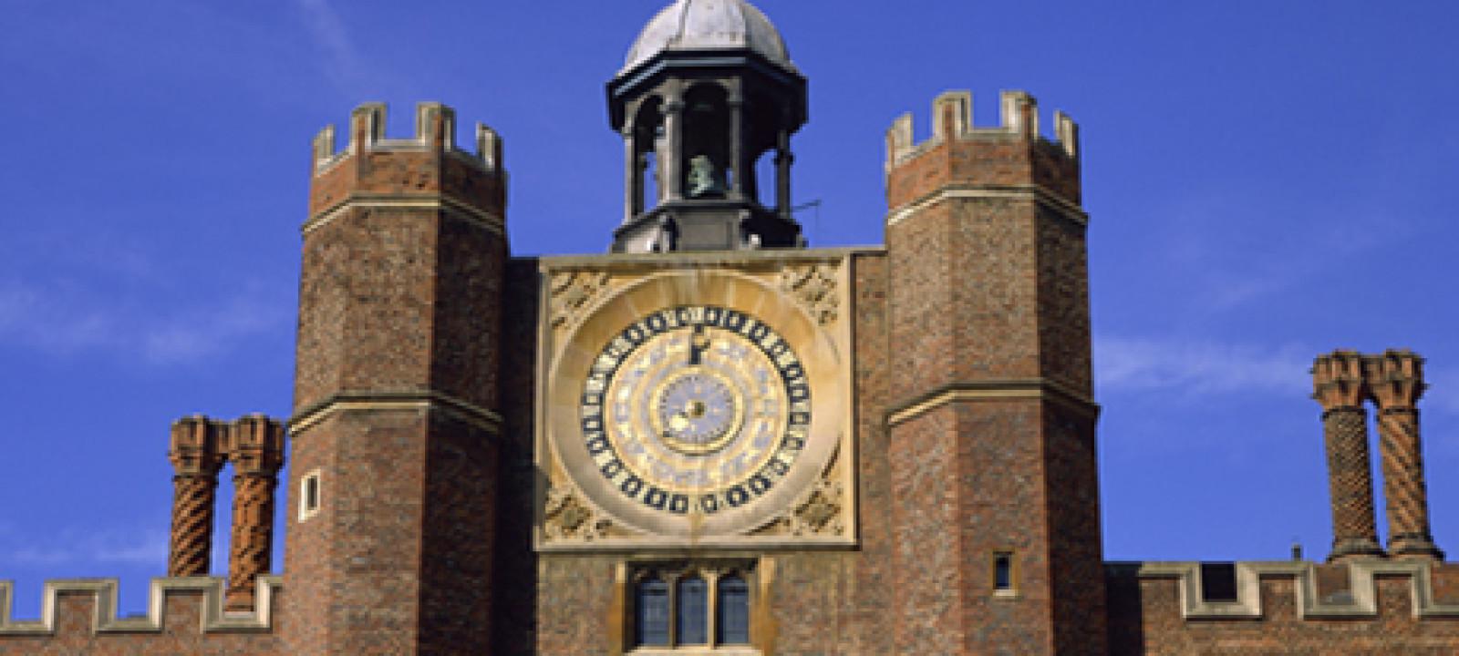 Clock Court, Hampton Court, Greater London, England, United King