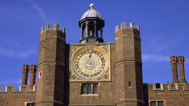 Clock Court, Hampton Court, Greater London, England, United King
