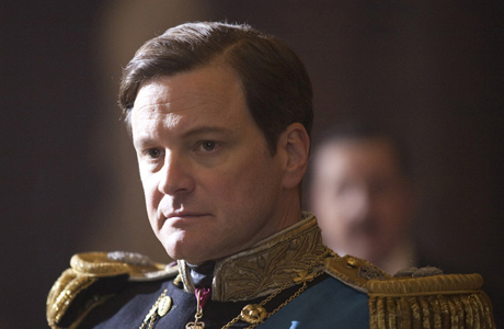 Colin Firth keeps a mean stiff upper lip in The King's Speech. (The Weinstein Company)