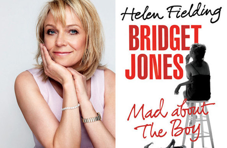 Helen Fielding releases the Bridget Jones sequel, Mad About the Boy. (Random House)