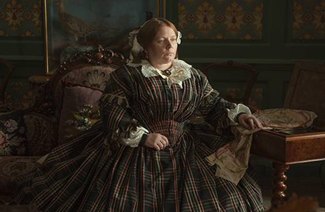 Joanna Scanlan portrays Catherine Dickens in The Invisible Woman. (BBC Films)
