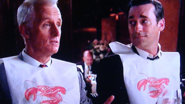 Mad Men, Lobster Bib