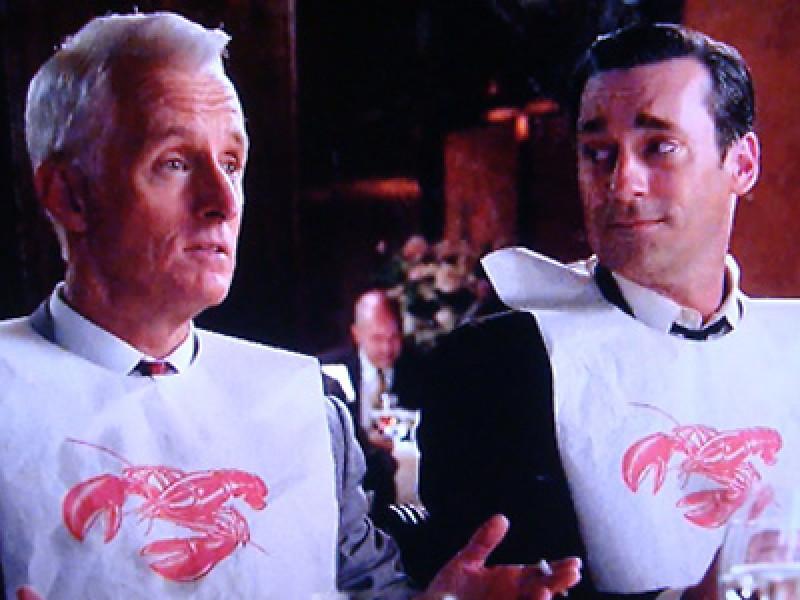 Mad Men, Lobster Bib