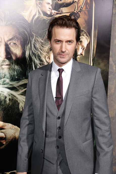 Richard Armitage (Thorin Oakenshield) de-bearded. (Eric Charbonneau/Invision/AP)