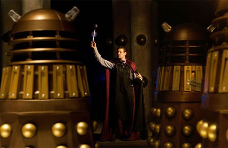 Doctor and Daleks - The Time of the Doctor