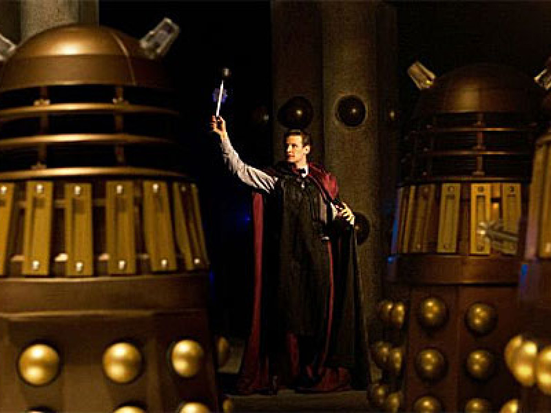 The Doctor and the Daleks