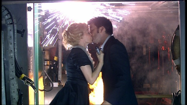 2007: VOYAGE OF THE DAMNED What Happened? International superstar Kylie Minogue joins David Tennant for 2007's Doctor Who Special. Stepping back in time, Kylie plays a waitress on the doomed ship, the Titanic. The action picks up from the end of Series Three when the Titanic crashed into the TARDIS.