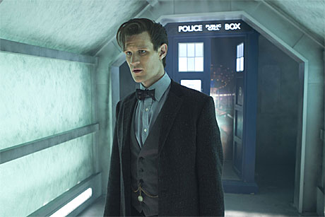 Matt Smith as the Doctor in 'The Time of the Doctor'