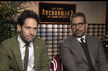 Paul Rudd (l) and Steve Carell