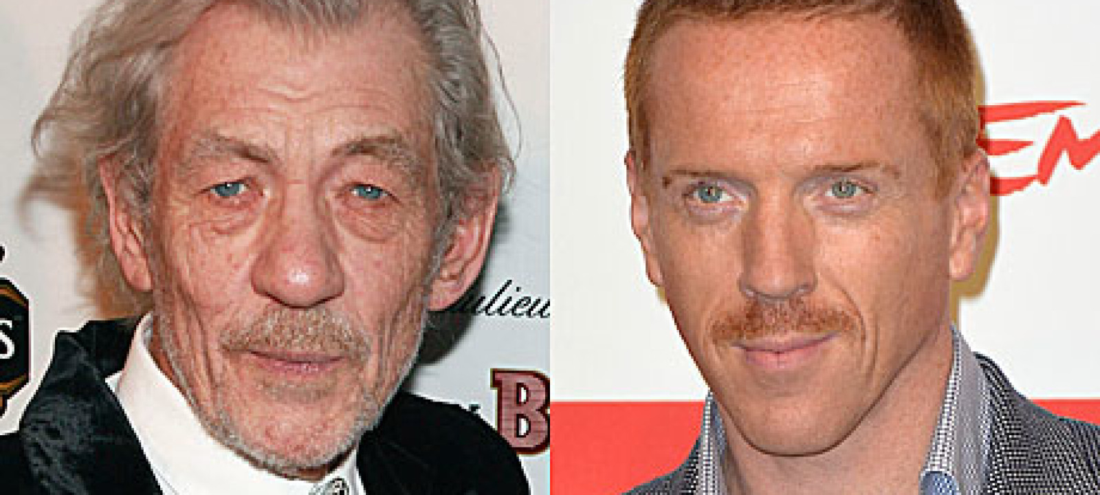 Sir Ian McKellen and Damian Lewis