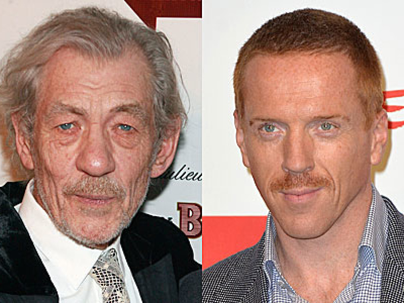 Sir Ian McKellen and Damian Lewis
