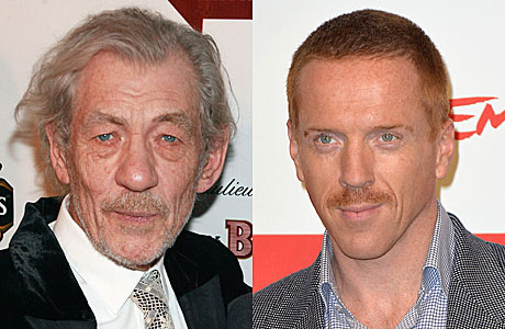 Sir Ian McKellen and Damian Lewis (PA Images)