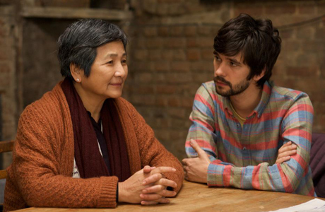 Ben Whishaw plays a gay man who befriends the Chinese mother (Pei-pei Cheng) of his recently deceased partner. (Photo: BBC Films)