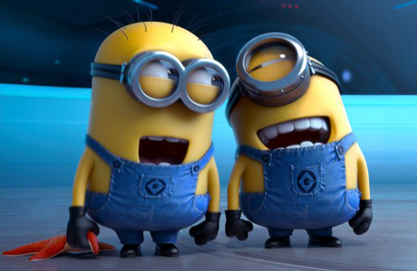 Those little minions from 'Despicable Me 2' ruled the box office across the Pond. (Photo: Universal Pictures)