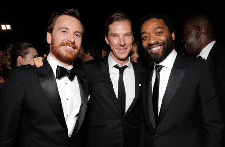 Fassy. Benny, and Chewy: the Three Musketeers. (Photo by Todd Williamson/Invision for FOX Broadcasting Company/AP Images)