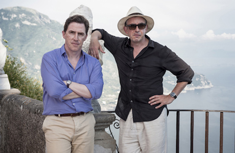 Rob Brydon and Steve Coogan in 'The Trip to Italy' (Photo: BBC Films)
