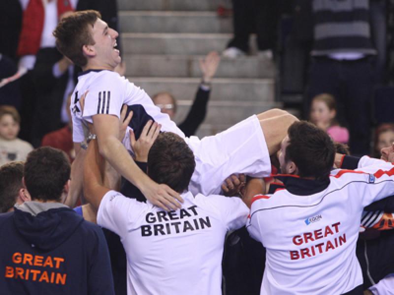 Tennis – Davis Cup – Great Britain v Slovakia – Day Three – Braehead Arena