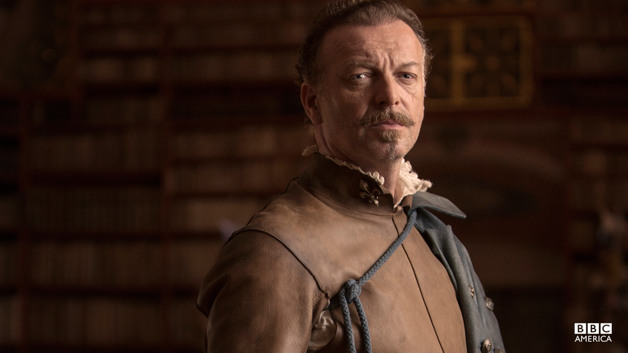 A legendary soldier, Treville is now Captain of the Musketeers, a close adviser to the King, and a man of absolute honor and integrity.