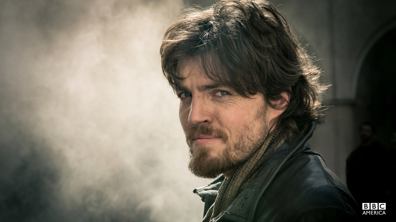 Athos is brave, resourceful and a natural leader of men. But he nurses a dark secret in his past.